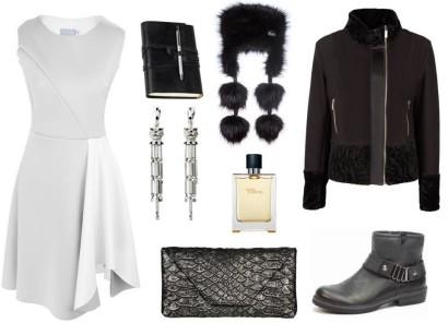 Szare Sukienki W Pi Ciu Ods Onach Businesswoman Life